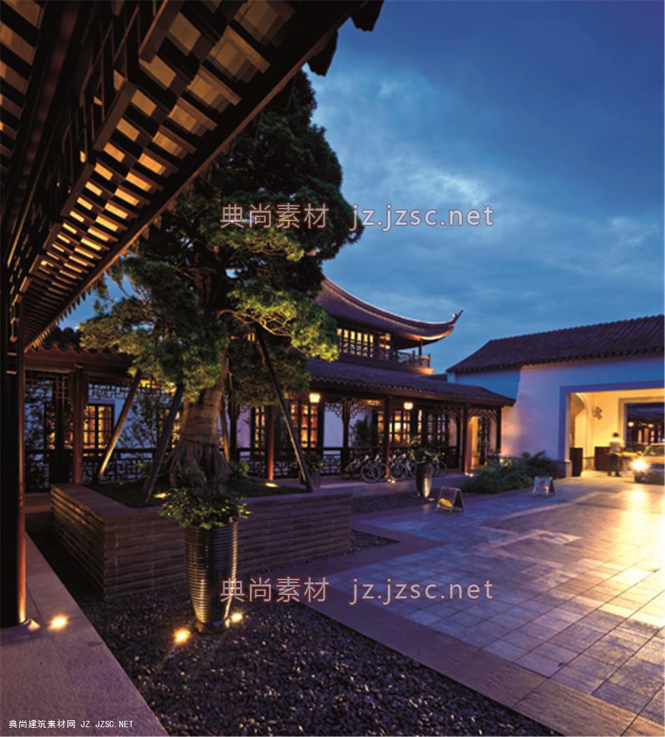 中式景观风格365 典尚建筑素材网